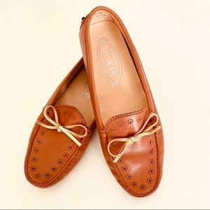 New Tod's Leather Loafers